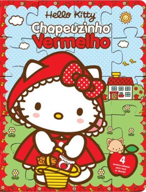 Hello Kitty: Chapeuzinho Vermelho - Livro Quebra-cabeça
