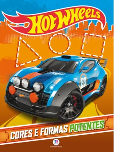 Hot Wheels: Cores e Formas Potentes