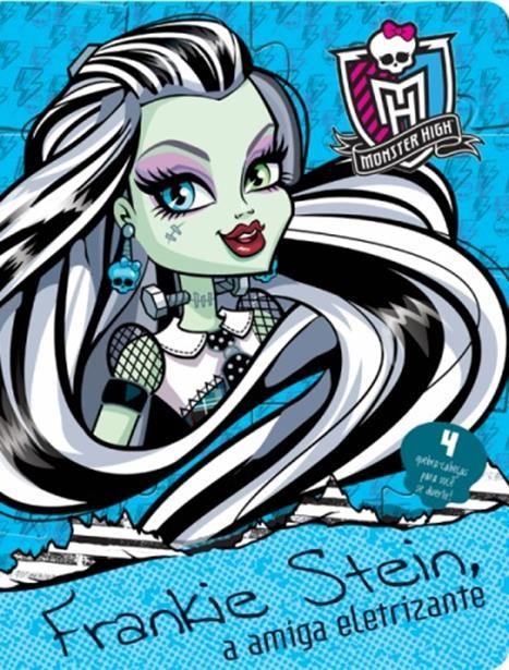 Monster High: Frankie Stein, a Amiga Eletrizante - Livro Quebra-cabeça