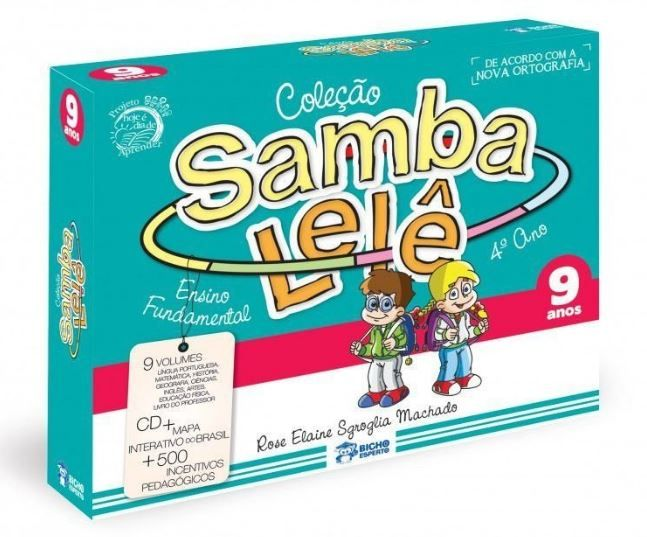 SAMBA LELE - COL. PEDAGÓGICA 9 ANOS 1ED - 9 VOL. + CD + BRINDES