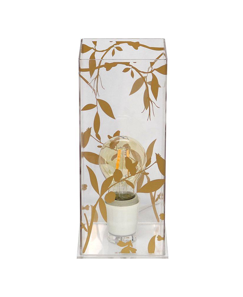 Abajur Flor Gold