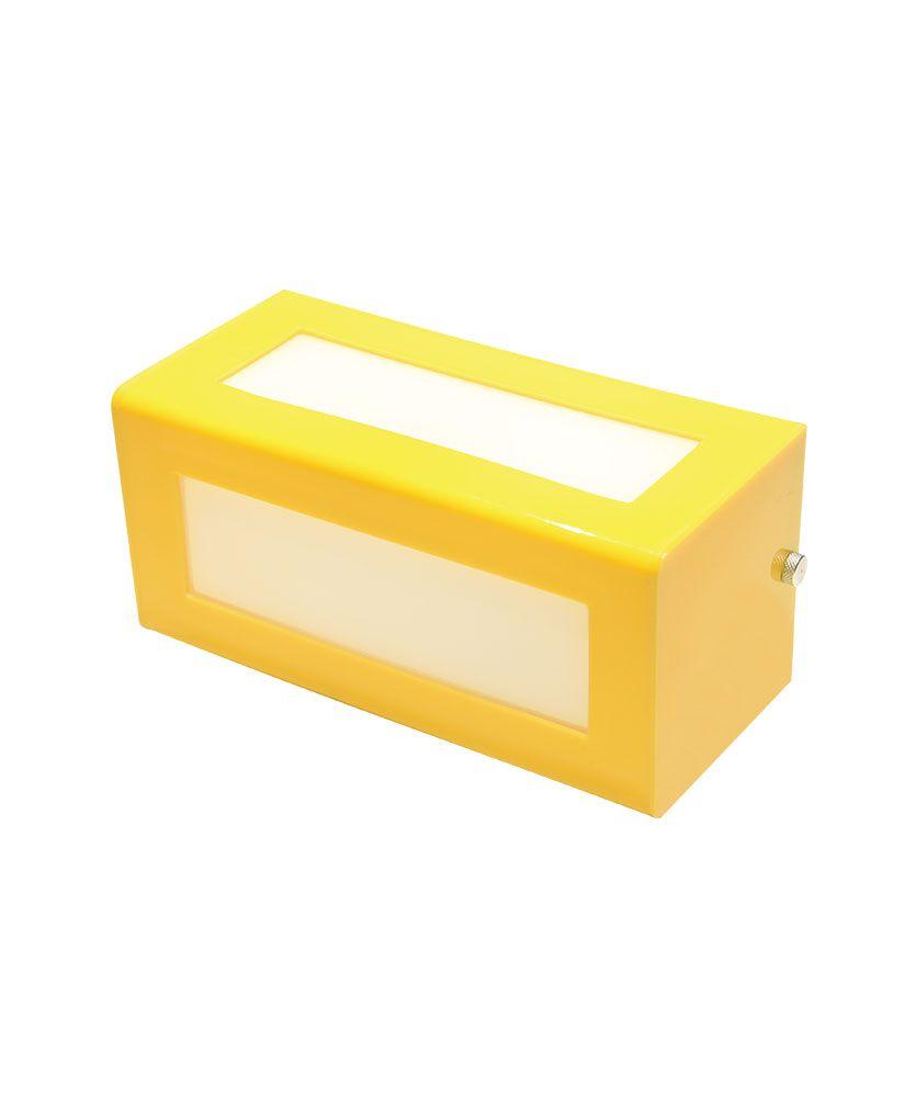 Arandela Colors – Amarelo