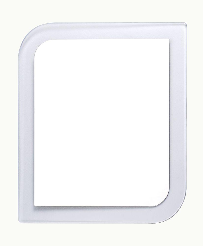 Espelho com moldura em acrílico Estilo - Cristal (54 x 47)