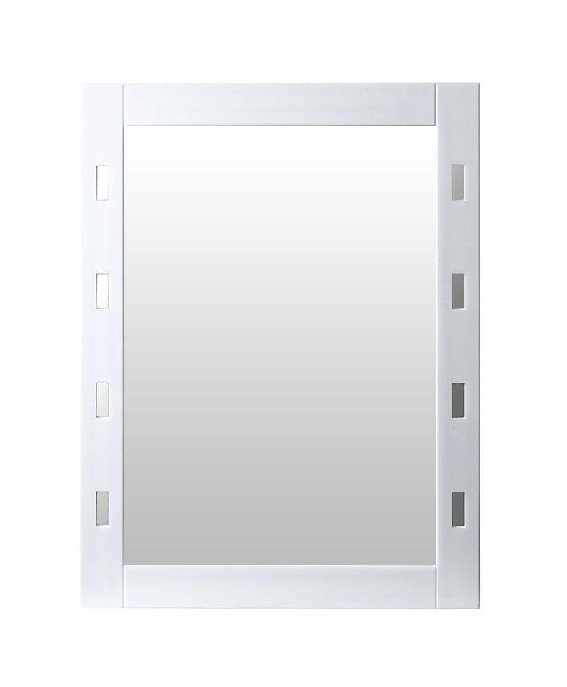Espelho com moldura em acrílico vazado – 45 x 60