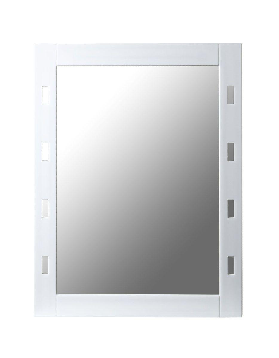 Espelho com moldura em acrílico vazado 45 x 60