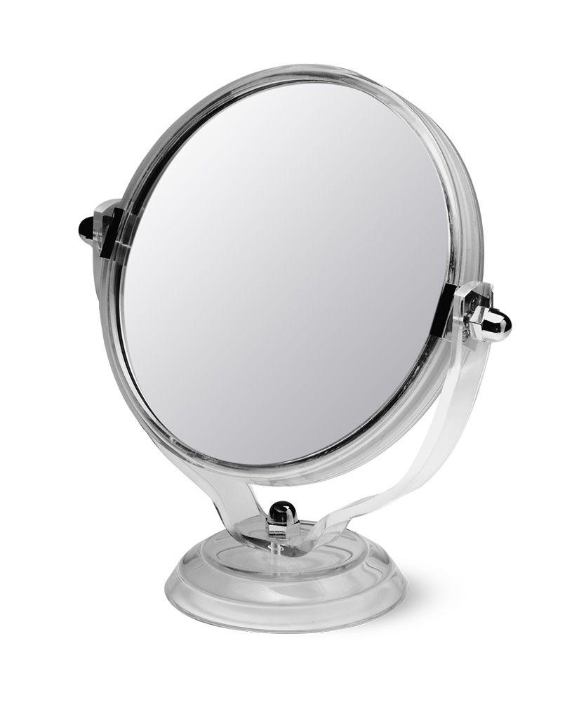 Espelho dupla face com aumento - Cristal