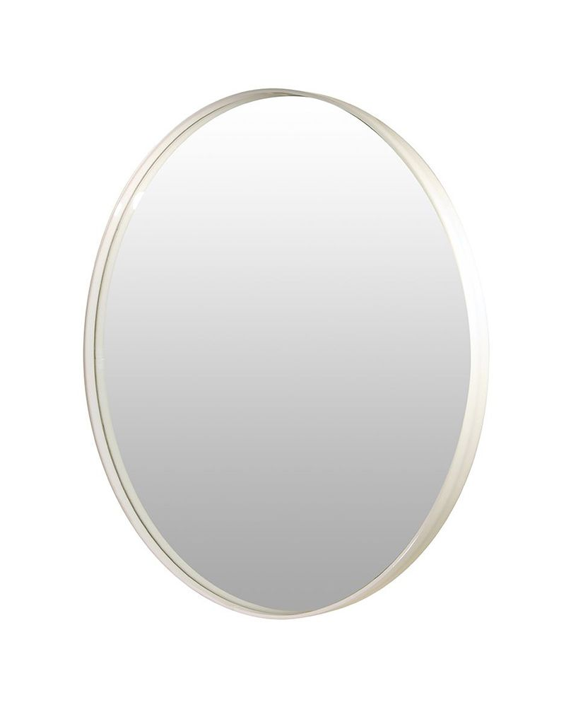 Espelho redondo com moldura em acrílico – 45,5cm