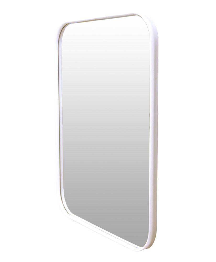 Espelho retangular com moldura em acrílico (36 x 46)