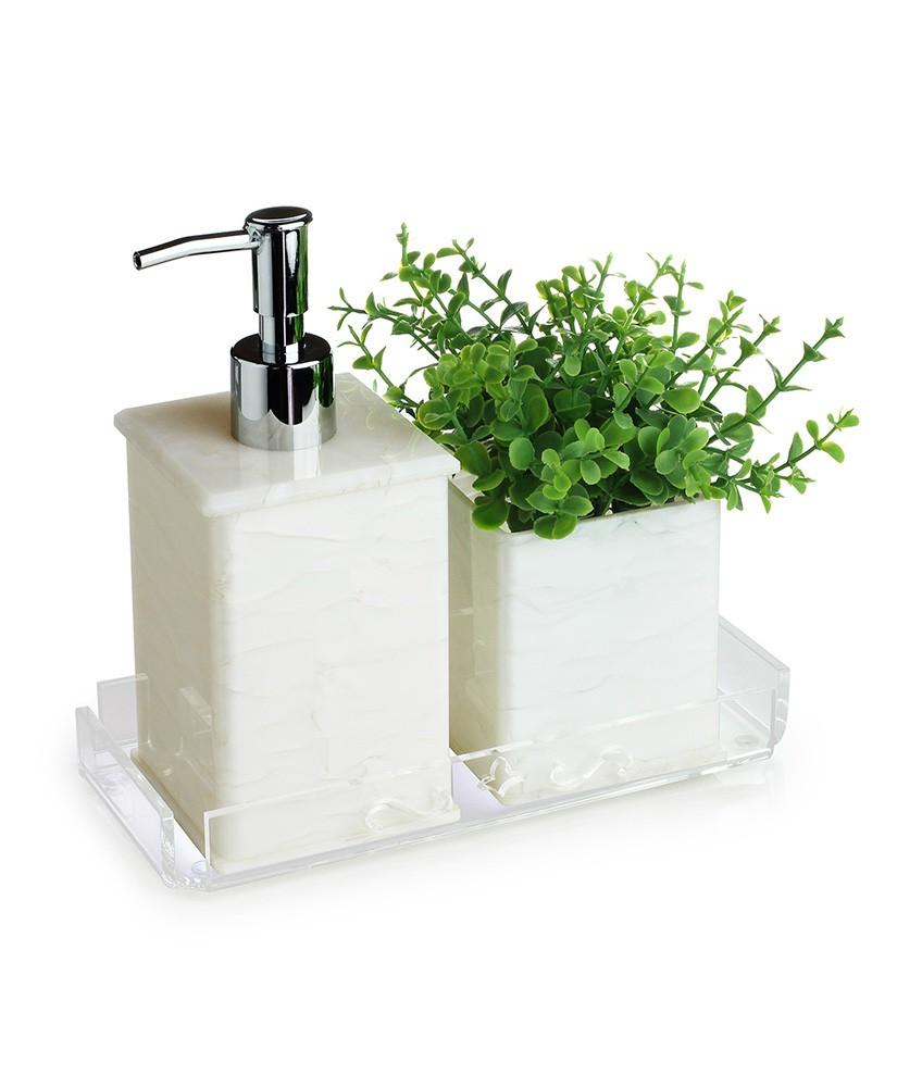 Kit lavabo Classic com bandeja