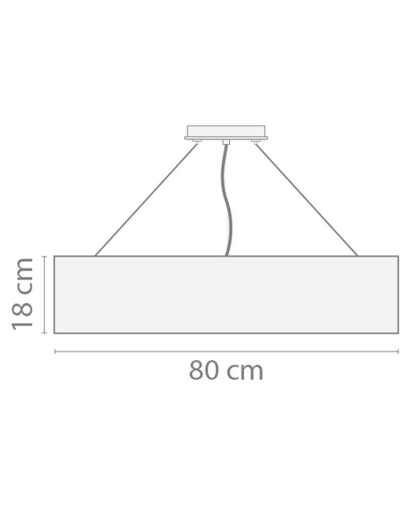 Pendente Barcelona – 80cm
