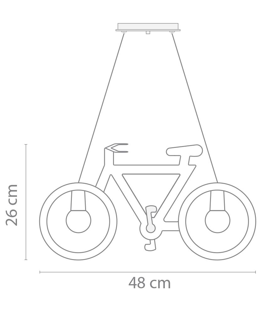 Pendente Bicicleta