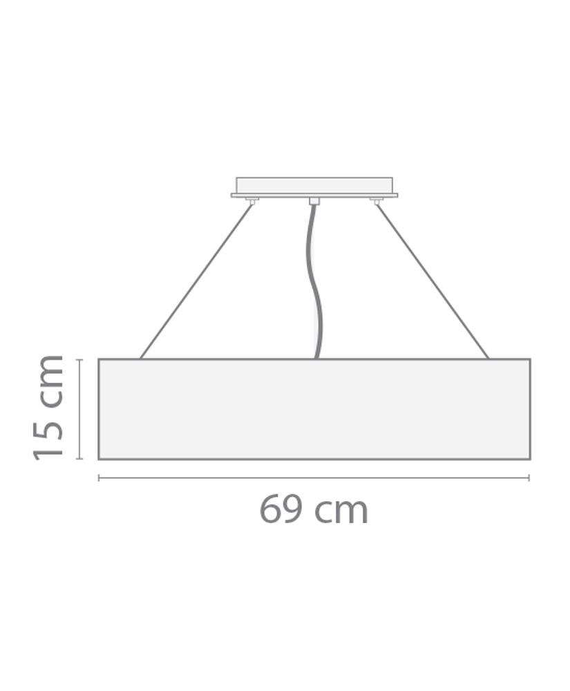 Pendente Florença –69cm