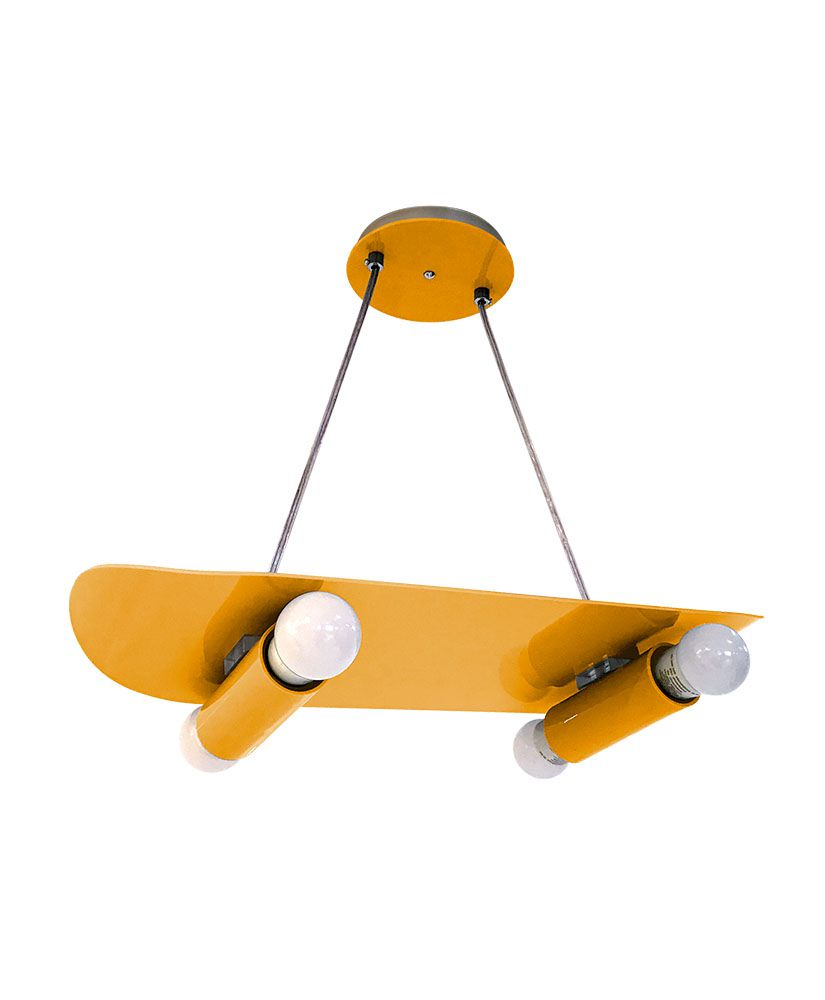 Pendente Skate - Amarelo