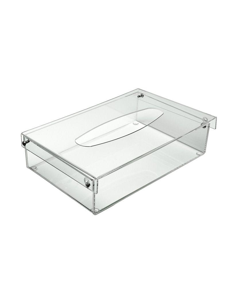 Porta lenços de papel – Cristal
