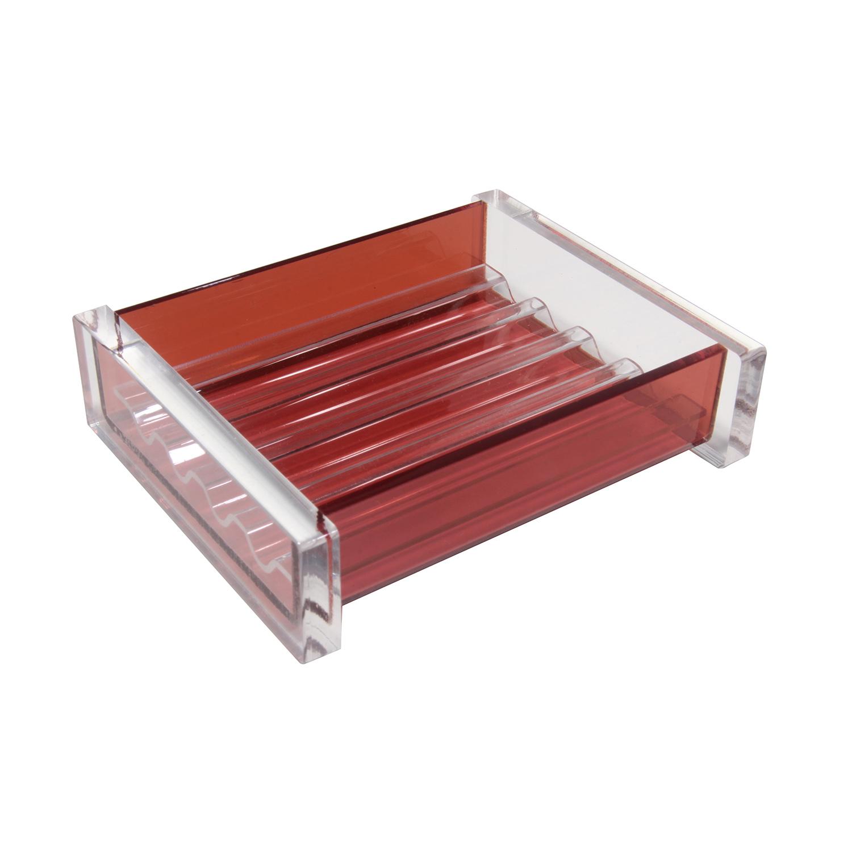 Saboneteira de mesa Linha Quadrada