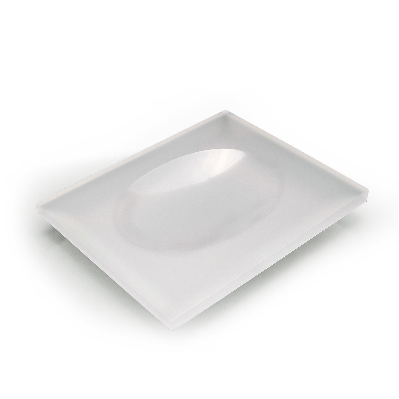 Saboneteira de mesa Onix  - Formacril Acrílicos
