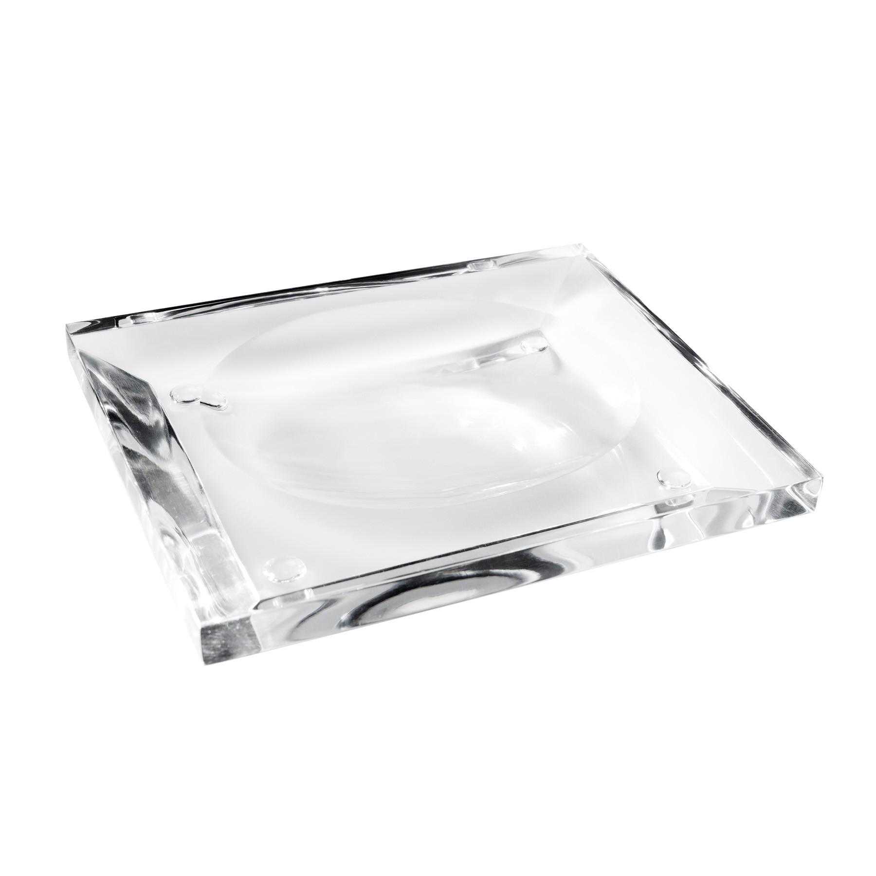 Saboneteira de mesa Onix - Cristal