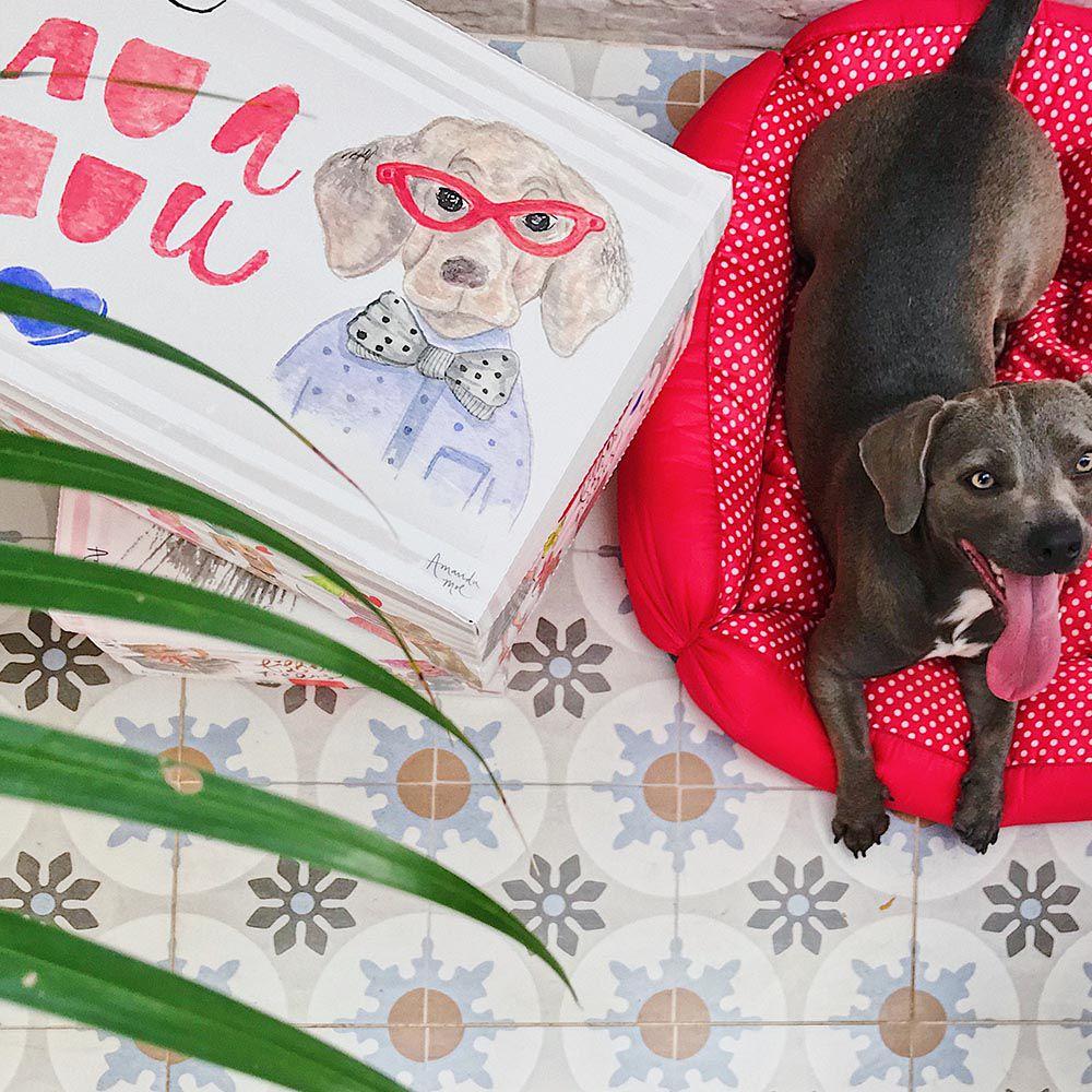 Caixa Organizadora Média Dogs | Linha Organize Formosinha