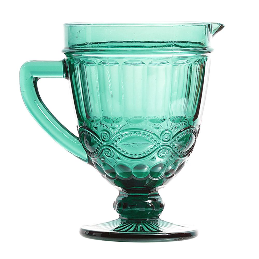 Jarra de Vidro Elegance Azul Tiffany