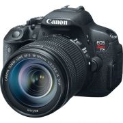 CANON EOS REBEL T5I / 700D EF-S 18-135MM IS STM, 18MP, FULL HD