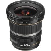 Objetiva Canon 10-22mm f/3.5-4.5 EF-S USM