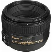 Objetiva NIKON 50mm f/1.4G Autofoco AF-S Nikkor