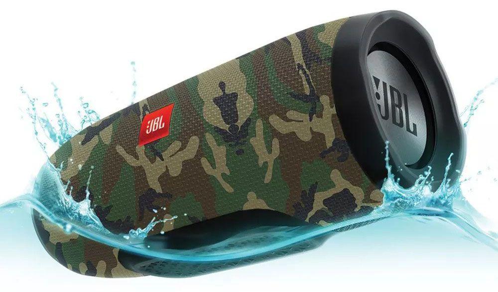 Caixa de Som JBL Charge 3 Camuflada - DT ELETRÔNICOS