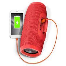 Caixa de Som JBL Charge 3 Vermelha