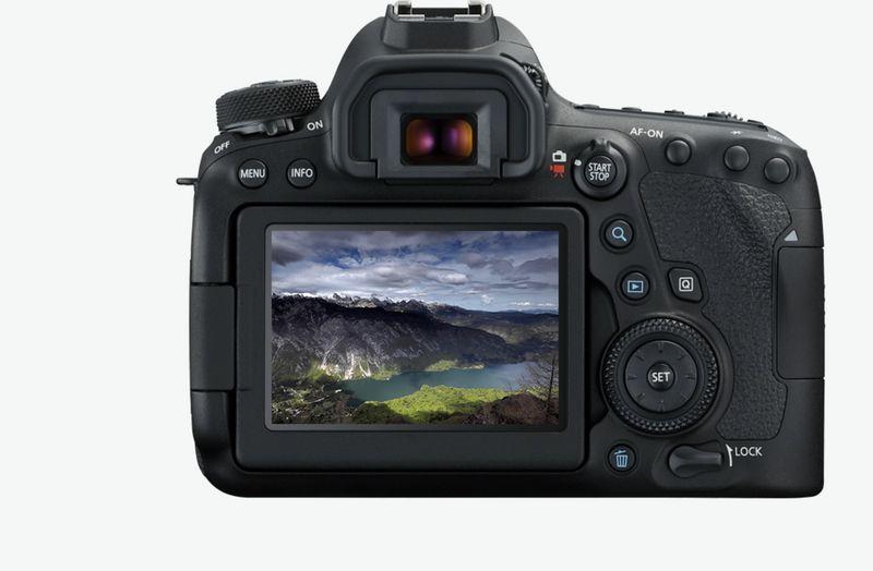 Câmera Canon EOS 6d Mark II EF 24-105mm f / 3.5-5.6 is stm, 26mp, Full HD, Wi-Fi