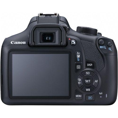 CÂMERA CANON EOS REBEL T6 EF-S 18-55MM, 18MP, FULL HD