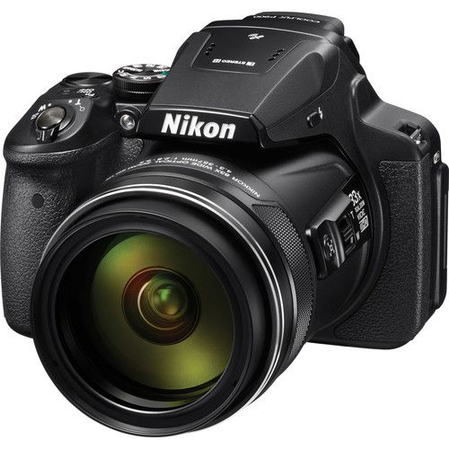 CÂMERA NIKON COOLPIX P900 16.1MP, ZOOM 83X, FULL HD, WI-FI, GPS