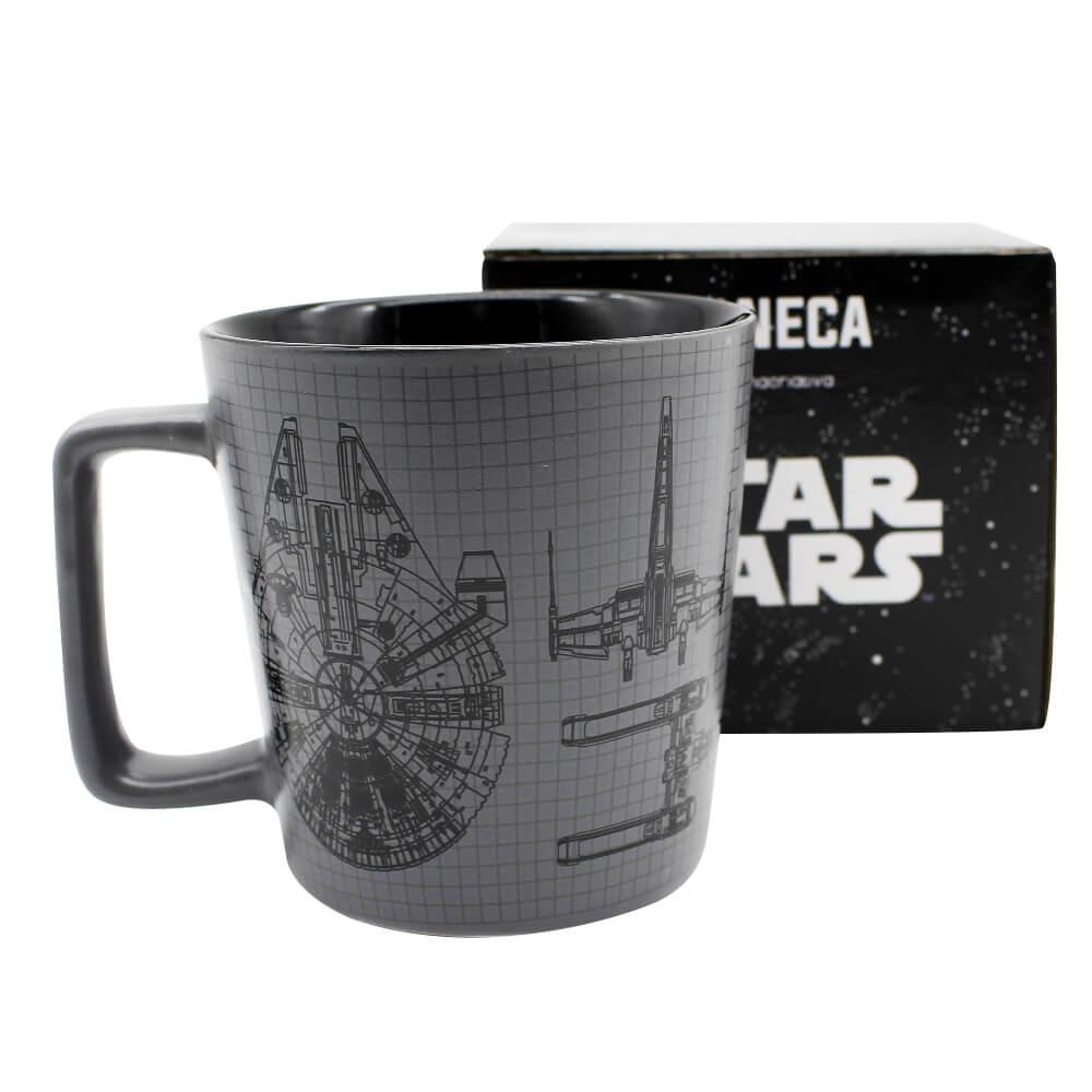 Caneca Buck 400ml Stormtropper E Vader Star Wars