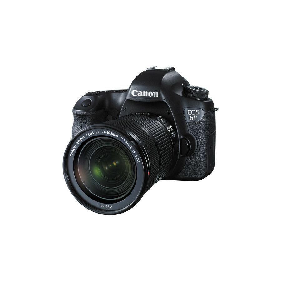 CANON EOS 6D EF 24-105MM STM 20.2MP, FULL HD, WI-FI, GPS