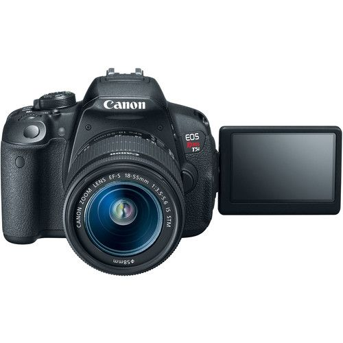 CANON EOS REBEL T5I / 700D EF-S 18-55MMIS STM, 18MP, FULL HD