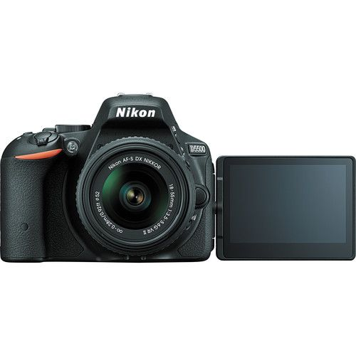 NIKON D5500, AF-S DX 18-55MM VR II, 24.2MP, FULL HD, WI-FI