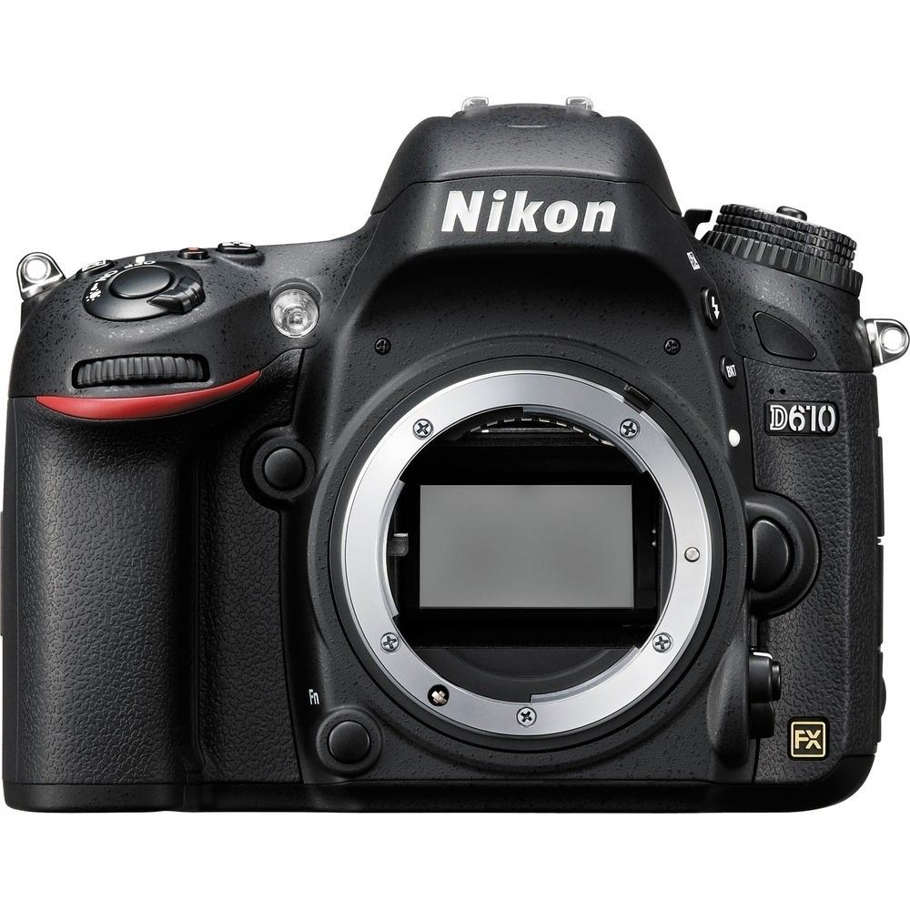 "NIKON D610 CORPO 24.3MP, LCD 3.2"", FULL HD, WI-FI"