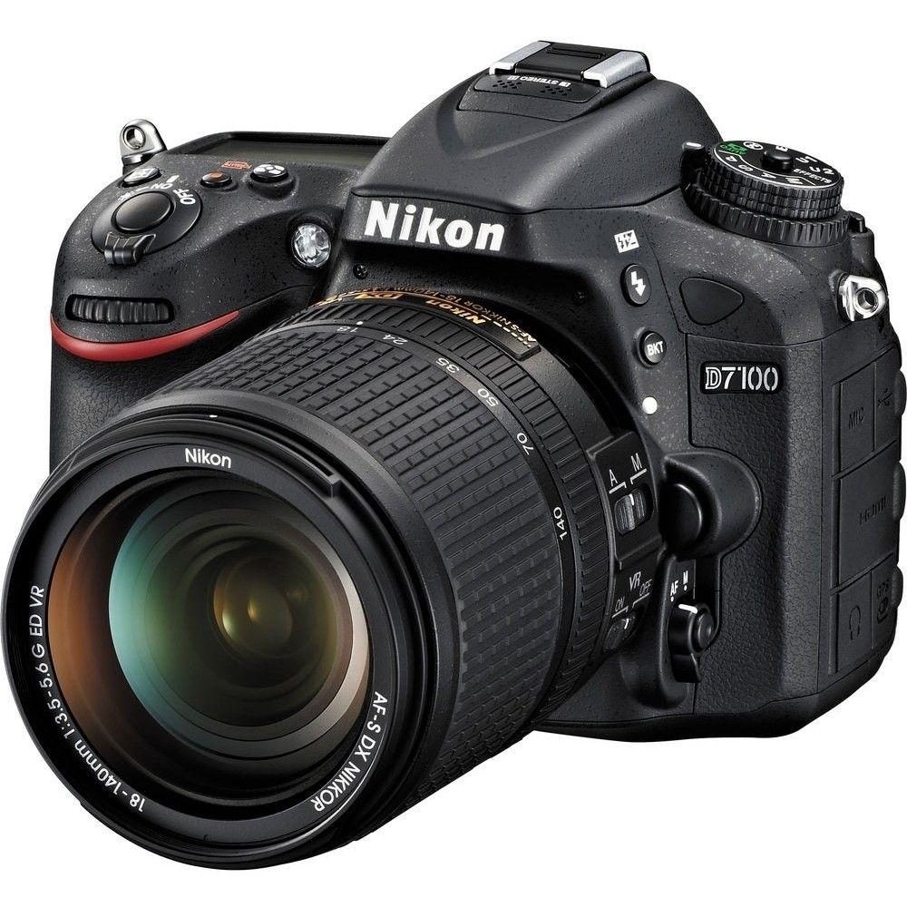 NIKON D7100 AF-S 18-140MM 24.1MP, LCD 3.2