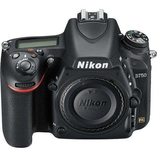 "NIKON D750 CORPO 24.3MP, LCD 3.2"", FULL HD"