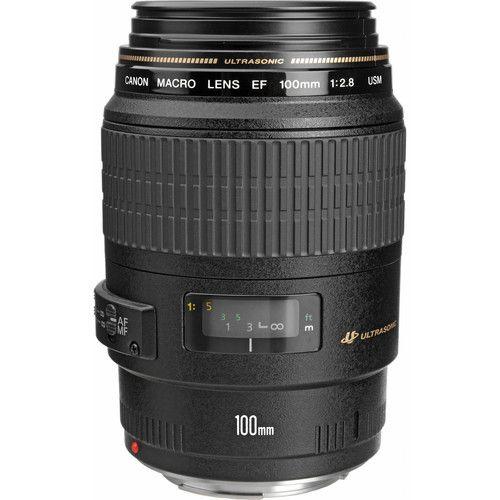 Objetiva Canon100 Macro f/2.8 EF USM