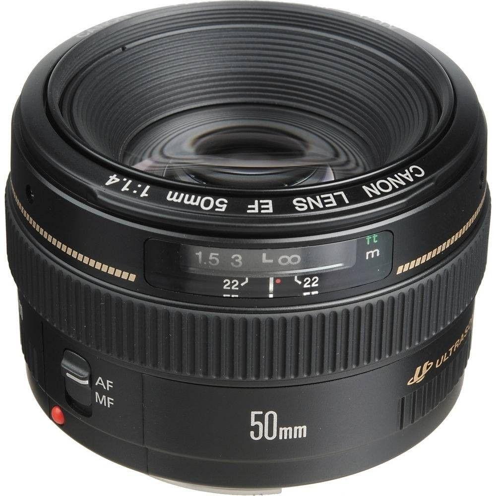 Objetiva Canon 50mm f/1.4 EF USM