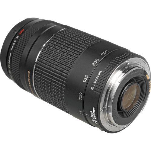 Objetiva Canon 75-300mm f/4-5.6 III EF USM