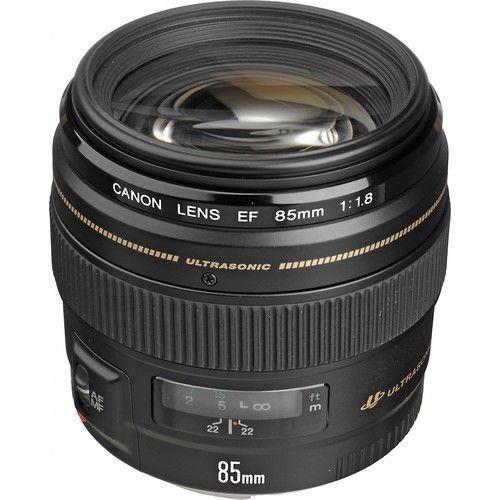 Objetiva Canon 85mm f/1.8 EF USM