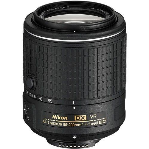 Objetiva NIKON AF-S DX NIKKOR 55-200MM F/4-5.6G ED VR II
