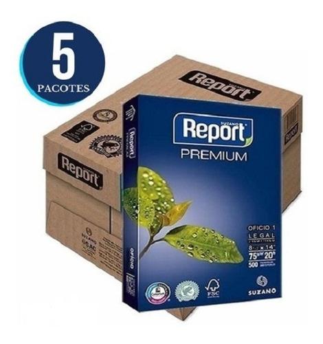 Papel Sulfite A4 2.500 Folhas 210x297mm 75g Branco Premium