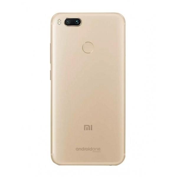 Smartphone Xiaomi Mi A1 dual Android one 7.1 Tela 5.5 64GB Camera dupla 12MP bateria 3080mah - Dourado
