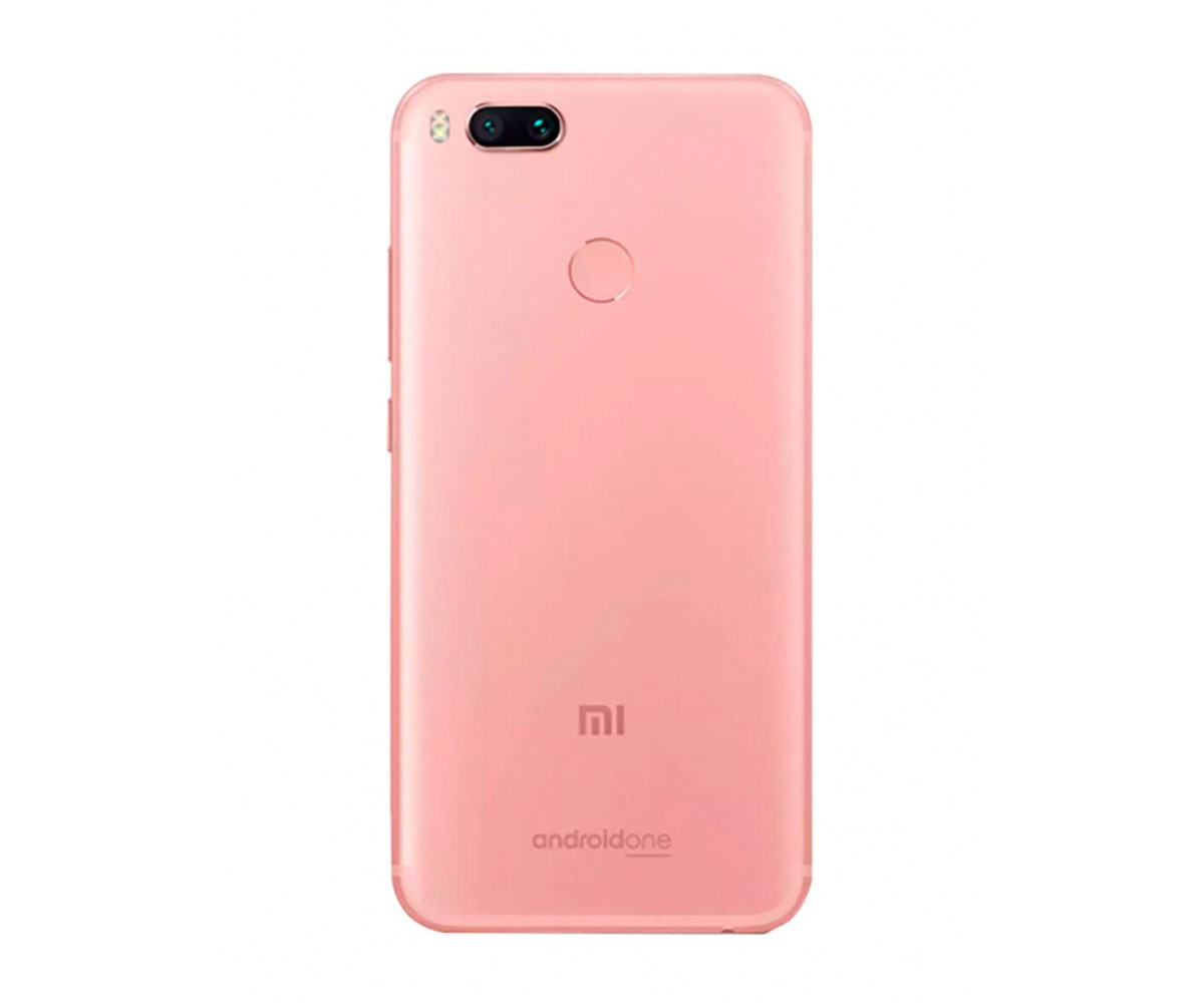 Smartphone Xiaomi Mi A1 dual Android one 7.1 Tela 5.5 64GB Camera dupla 12MP bateria 3080mah - Rosa