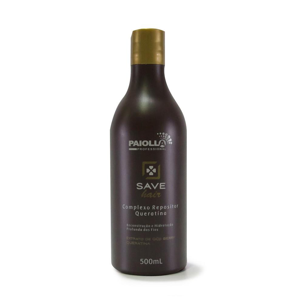 Complexo de Queratina para Cabelo - Save Hair - 500ml