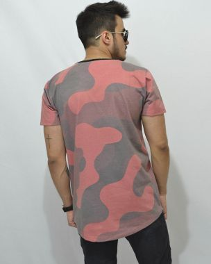 Long T-Shirt Camuflagem