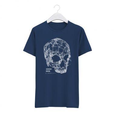 T-Shirt Skull Lines
