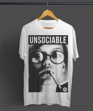 T-Shirt Unsociable